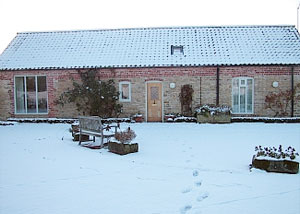 Winter view from The Old Stables